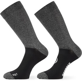 ASSOS Trail Socks black series